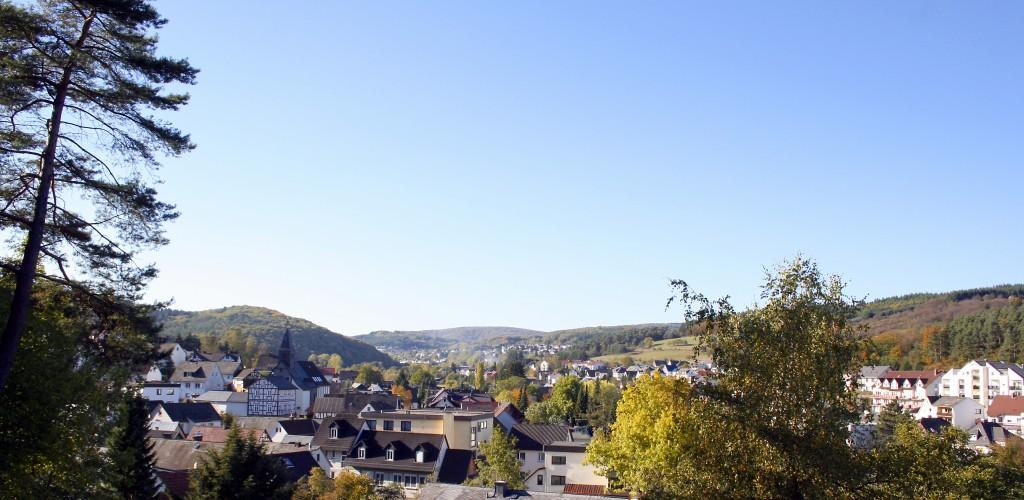 Endbach im Herbst