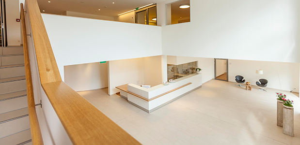 Berglandklinik Foyer
